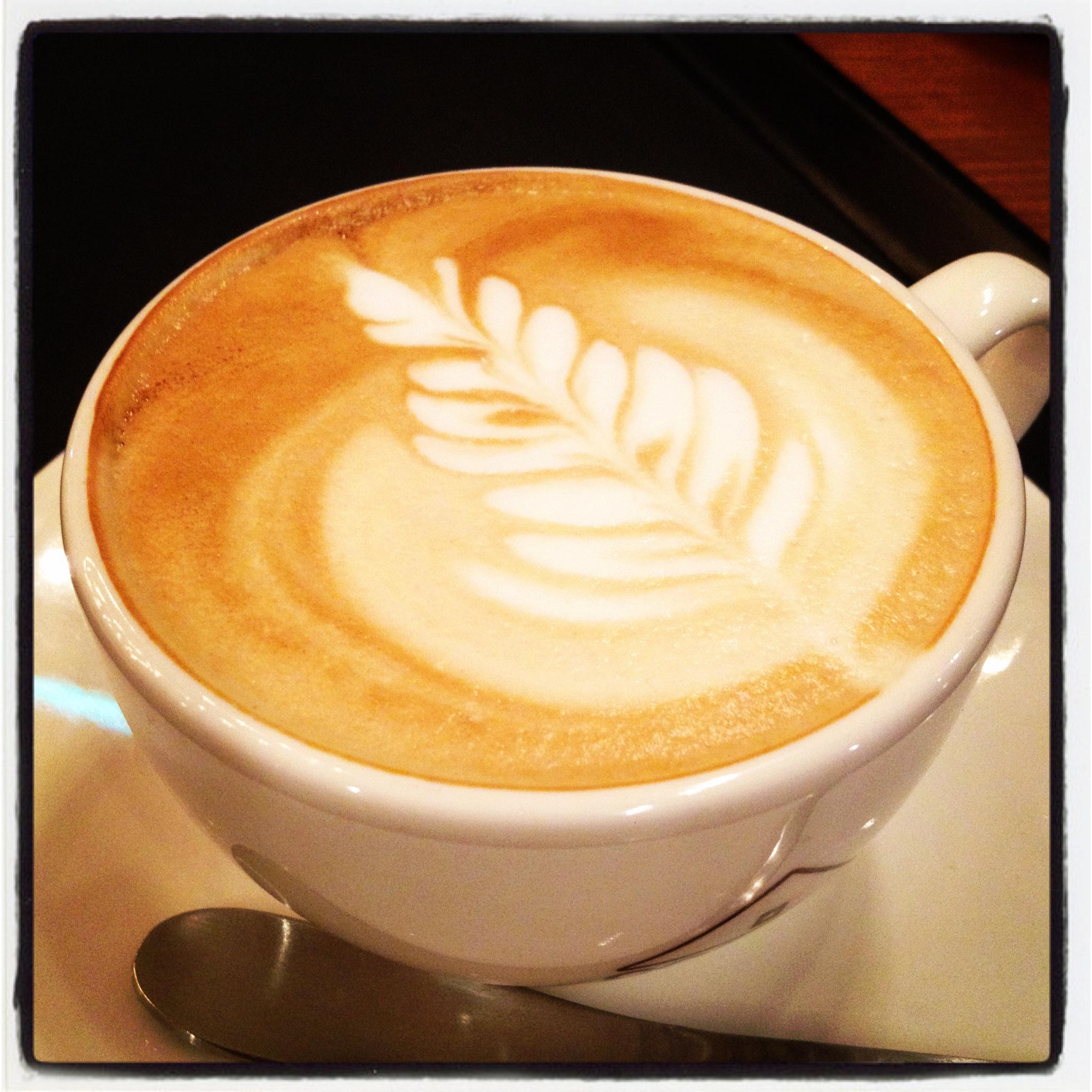 Coffee Art Love Img
